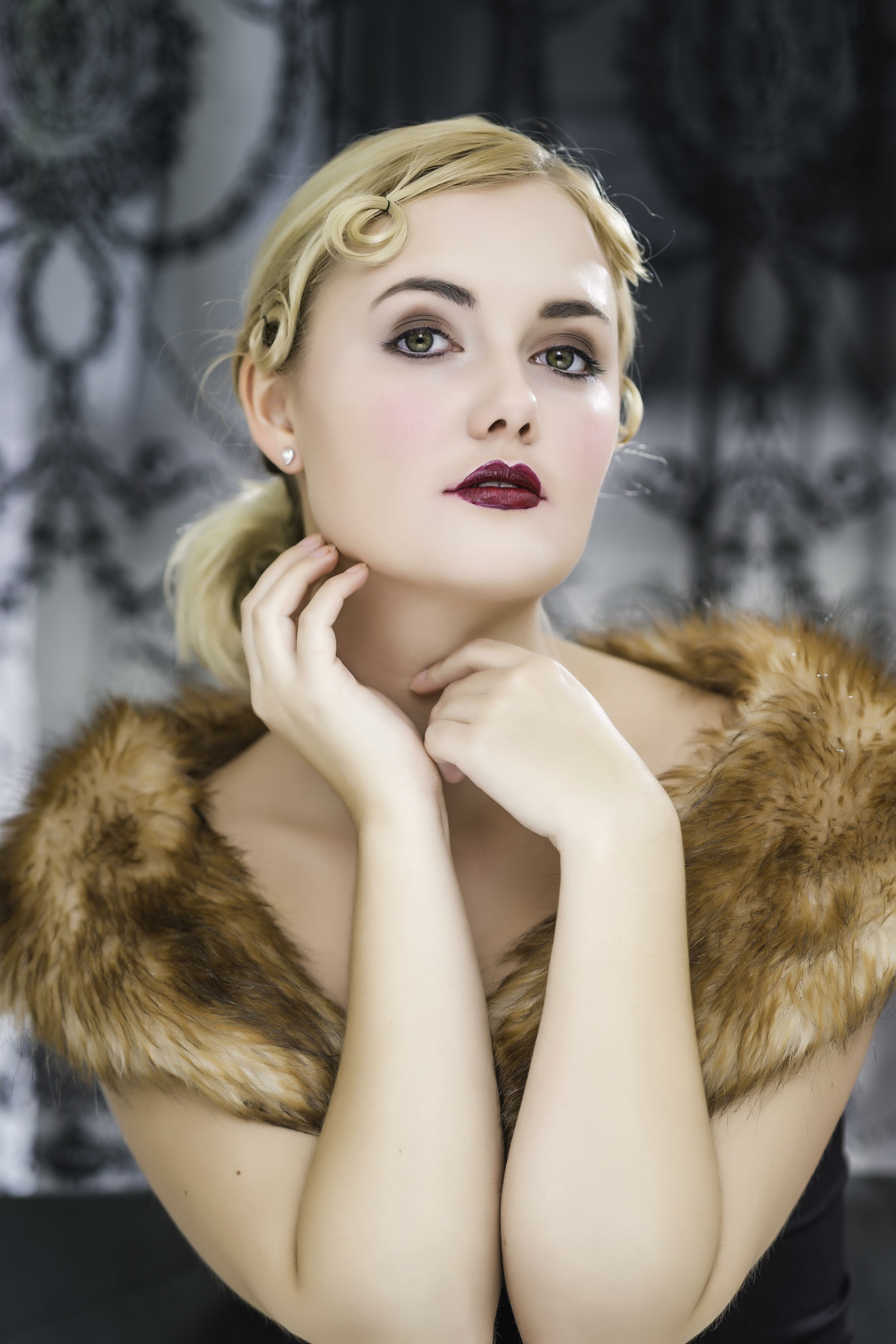 JGB 1930s Tallulah Bugsy Malone Hair & Makeup by Jax