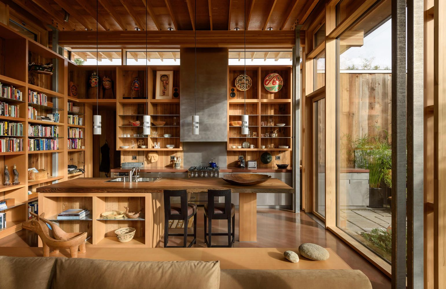 Gallery Of City Cabin Olson Kundig 12 Home Home Decor Kitchen House