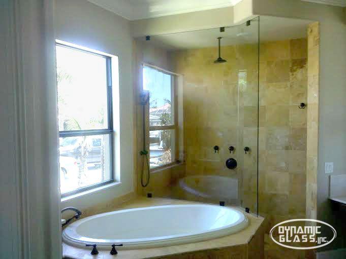 Dynamic Glass Inc Venice Florida Bathroom Shower Enclosures