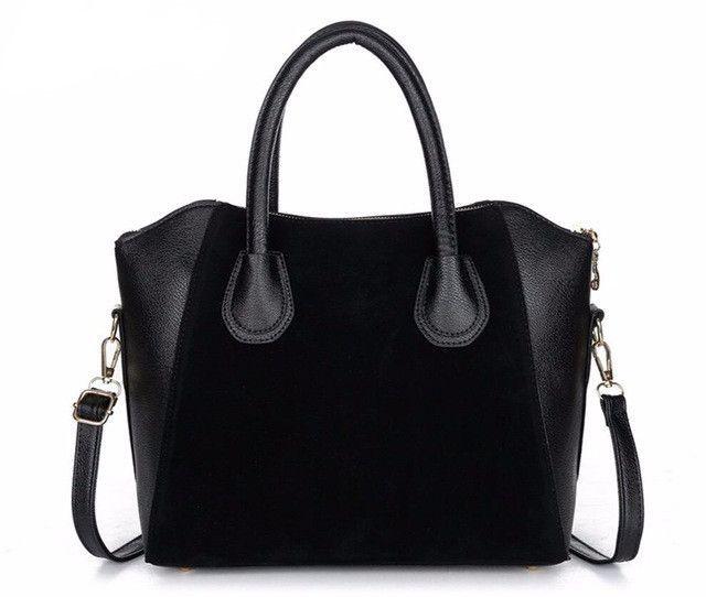 Fashion PU Leather Classic Style Handbag