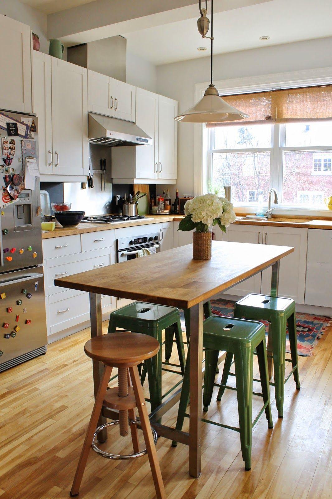 Pour Toujours Kitchen Bar Table Butcher Block Island Kitchen Breakfast Bar Small Kitchen