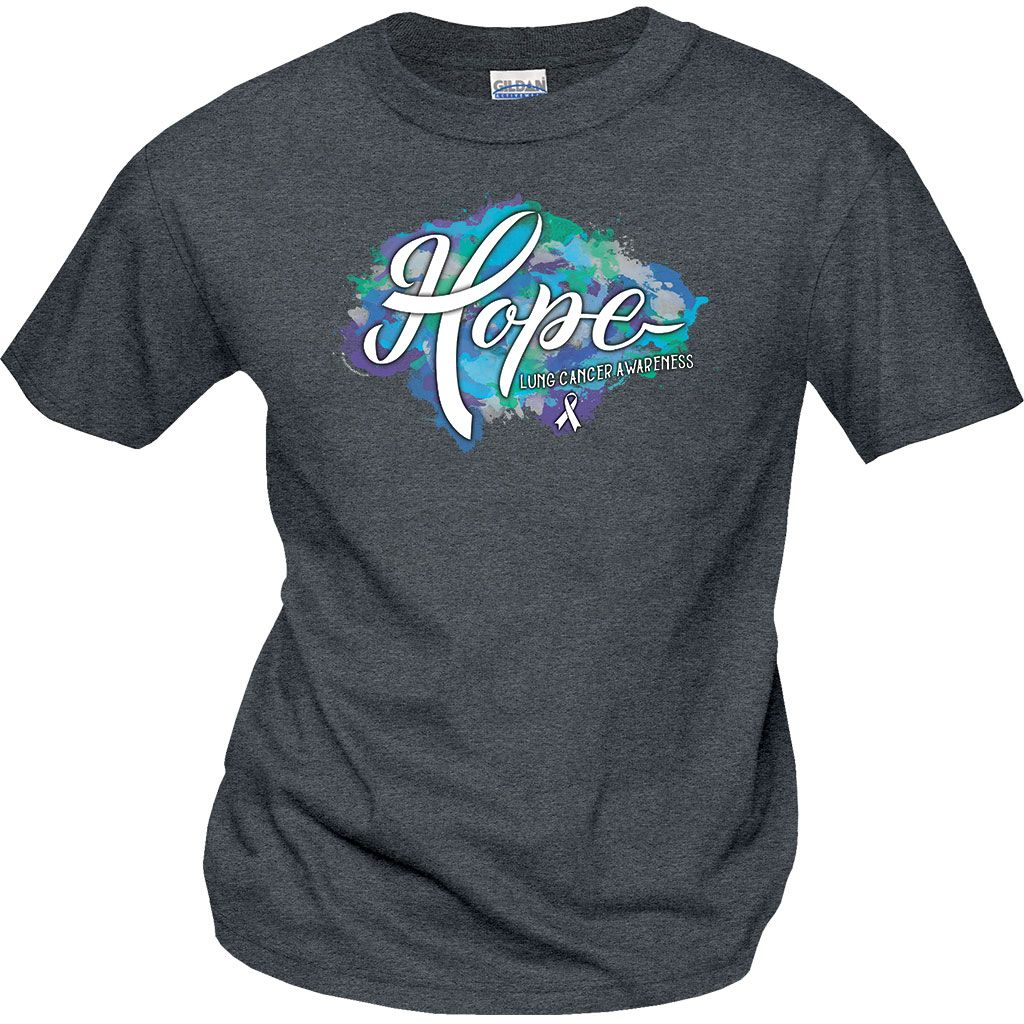 Find a Cure Ladies T-Shirt Supporting Cancer Researc Spread The Hope