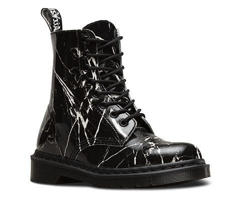 Pascal Marble Black off of Dr Martens official website