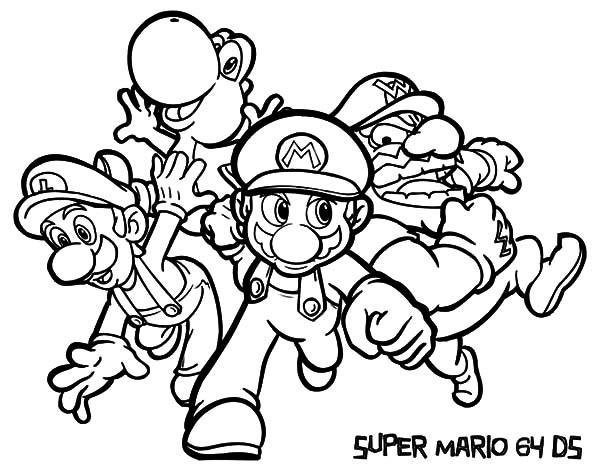 Super Mario And Luigi Coloring Pages Download Print Online Coloring Pages For Free Colo In 2020 Super Coloring Pages Avengers Coloring Pages Mario Coloring Pages