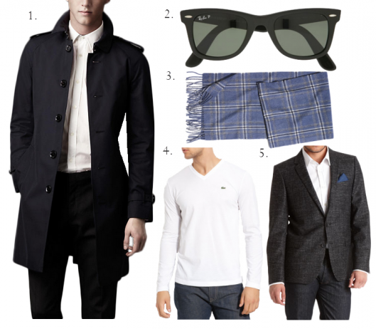 classic men's style #styleandcheek #classicstyle #mensstyle #raybans #burberry #lacoste #hugoboss