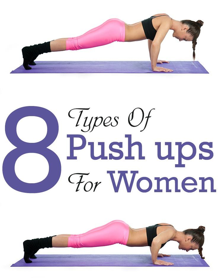 8 Types Of Push ups For Women And Their Benefits | Crafty