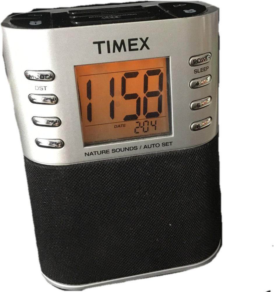 Timex Nature Sounds Digital Alarm Clock