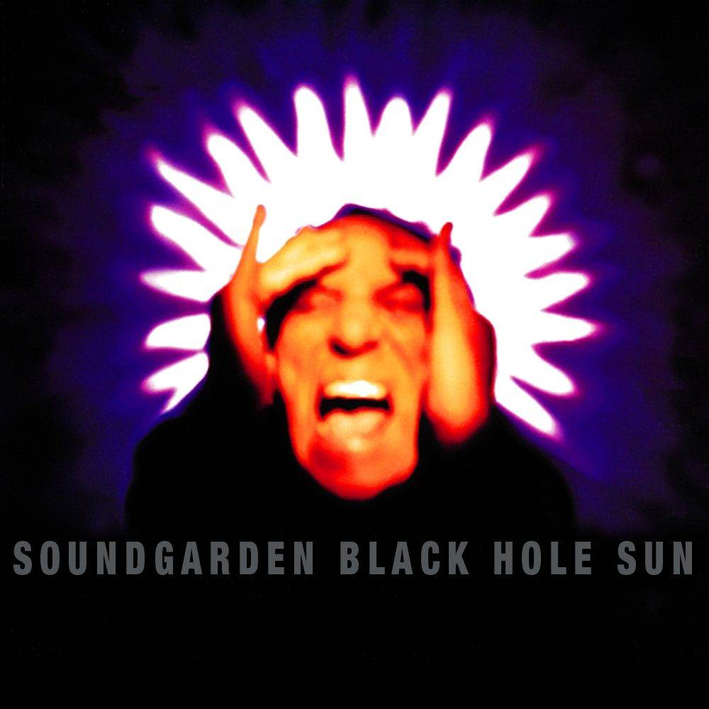 Soundgarden – Black Hole Sun (single cover art)