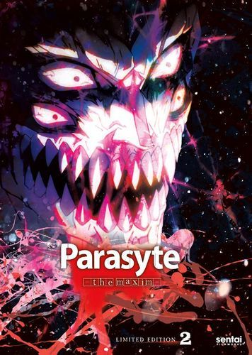 Parasyte The Maxim Collection 2 Limited Edition Box Set Blu Ray Dvd Best Buy Parasyte The Maxim Manga Covers Anime