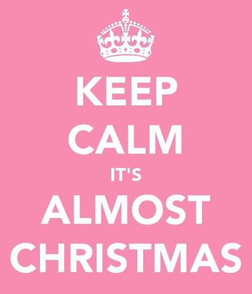It's almost Christmas