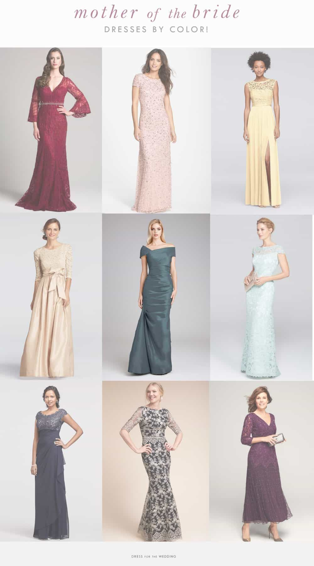 b469296e2a4 Find Mother-of-the-Bride Dresses by Color! Beautiful dresses for the   motherofthebride  motherofthegroom