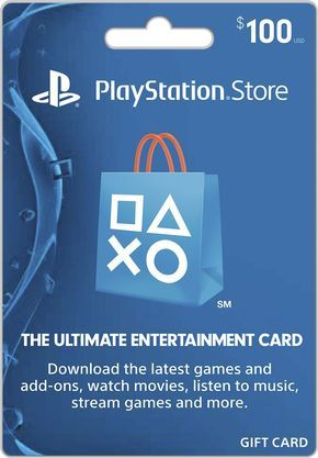 Sony Playstation Network 100 Gift Card Gift Card Generator