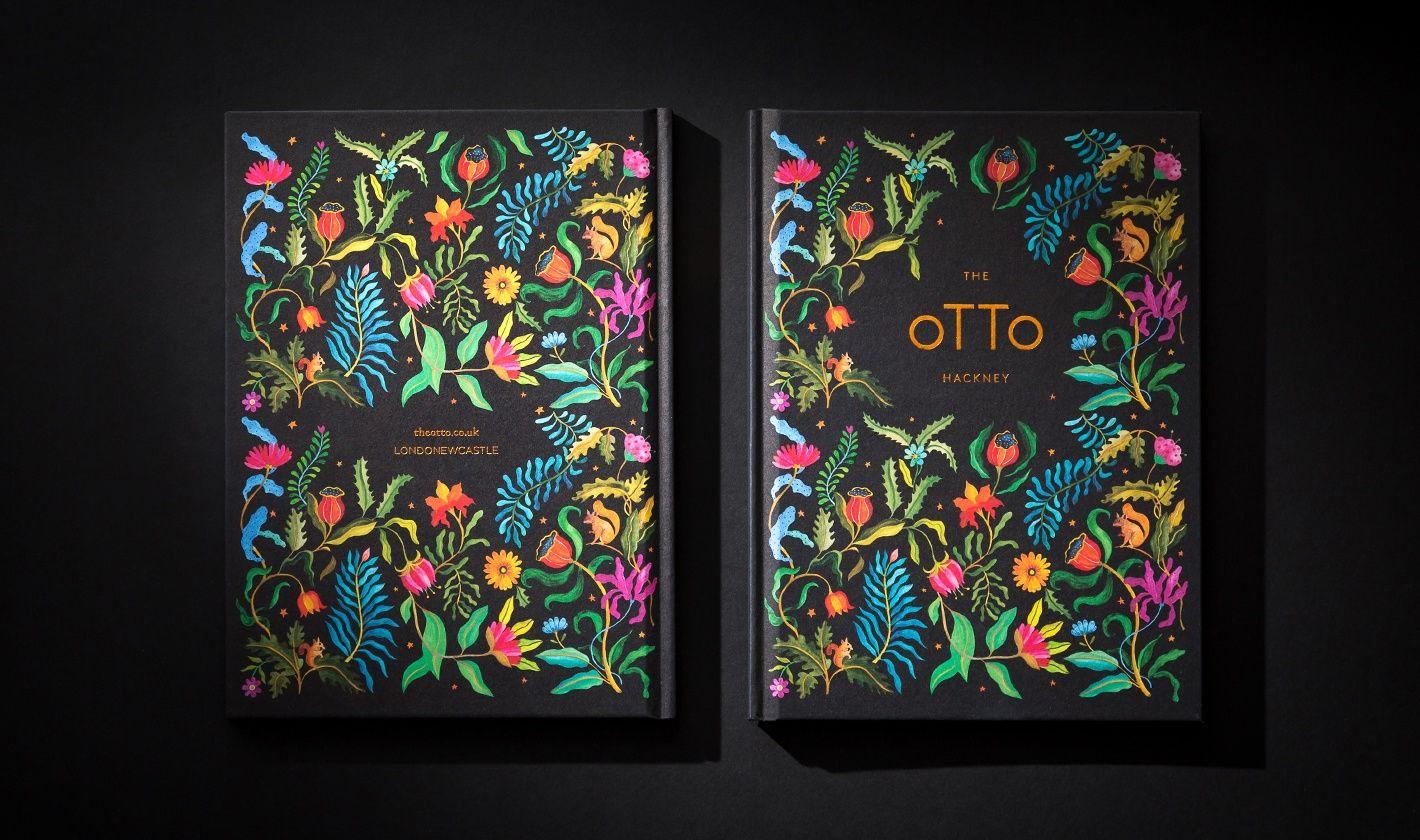 6acab2721f4 The Otto brochure – print design – Steve Edge Design - Steve Edge Design