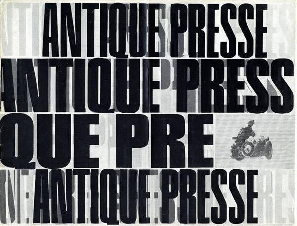 Antique Presse