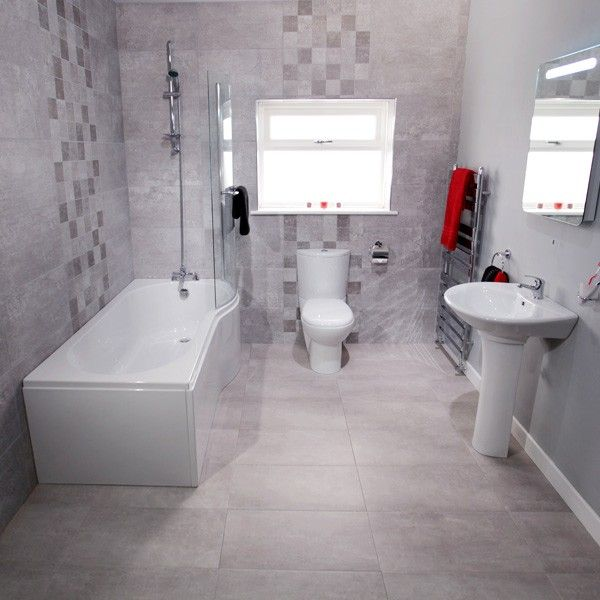 Our Clic 1700mm And 1500mm P Shaped Shower Baths Combined With A Range Of Modern Toilet Basin Sets These Full Bathroom Suite Packages Are Also