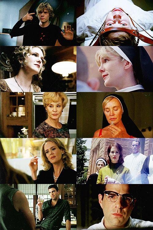 American Horror Story Season 1 & 2 / Character Comparison / Tate