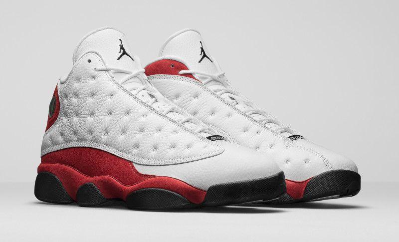 air jojrdan 13 true red worn by jordan