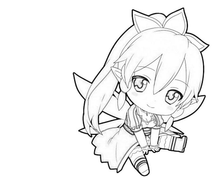 sao coloring pages sao coloring pages   Google Search | Coloring! | Chibi, Sword art  sao coloring pages