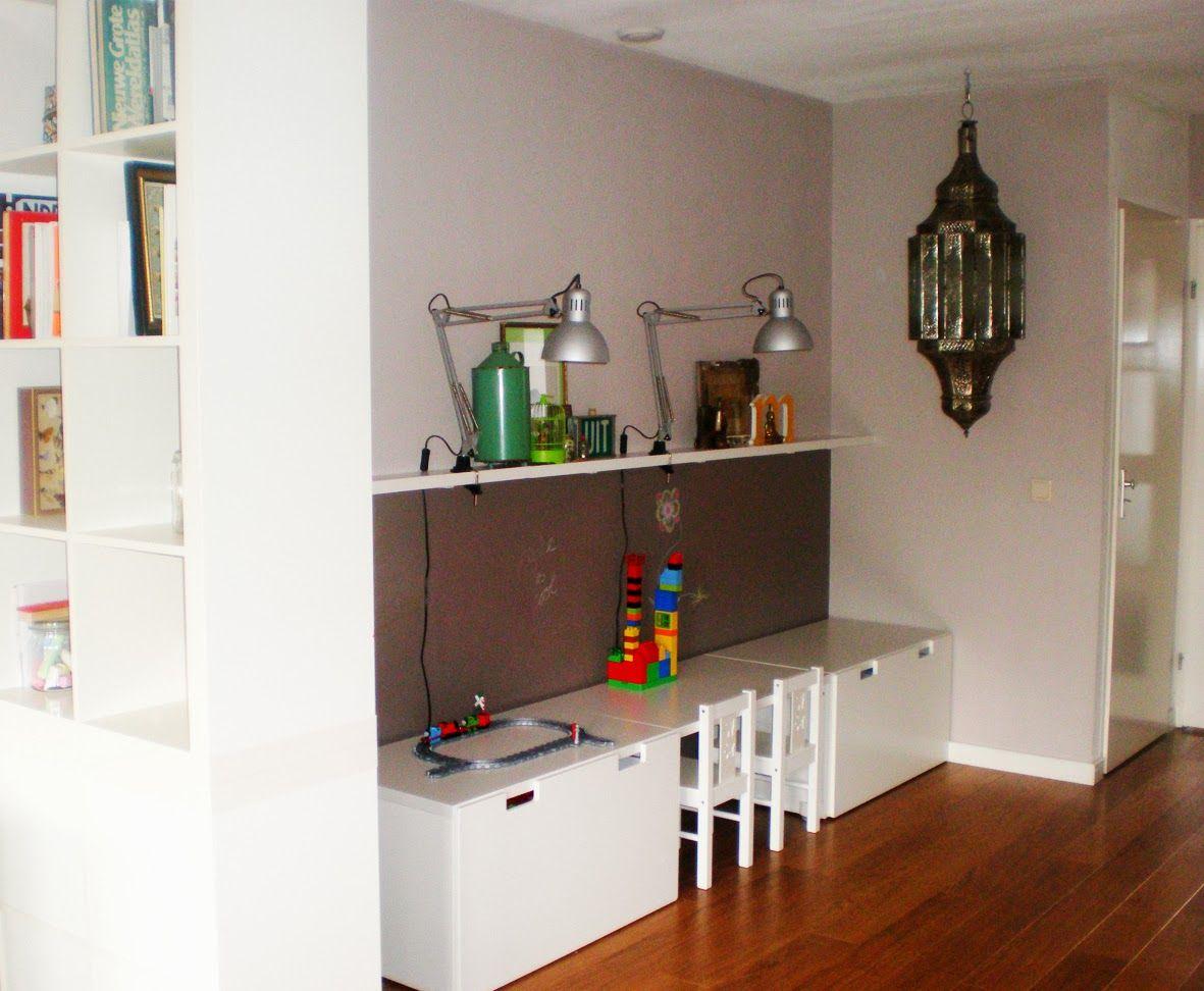 Opruimen en opbergen van speelgoed in de woonkamer: een leuke ...