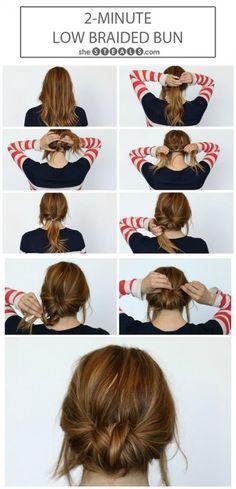 Hairstyle Changer Impressive 3 Coiffures Faciles Pour Les Journées Infernales  Le Mieux Quand