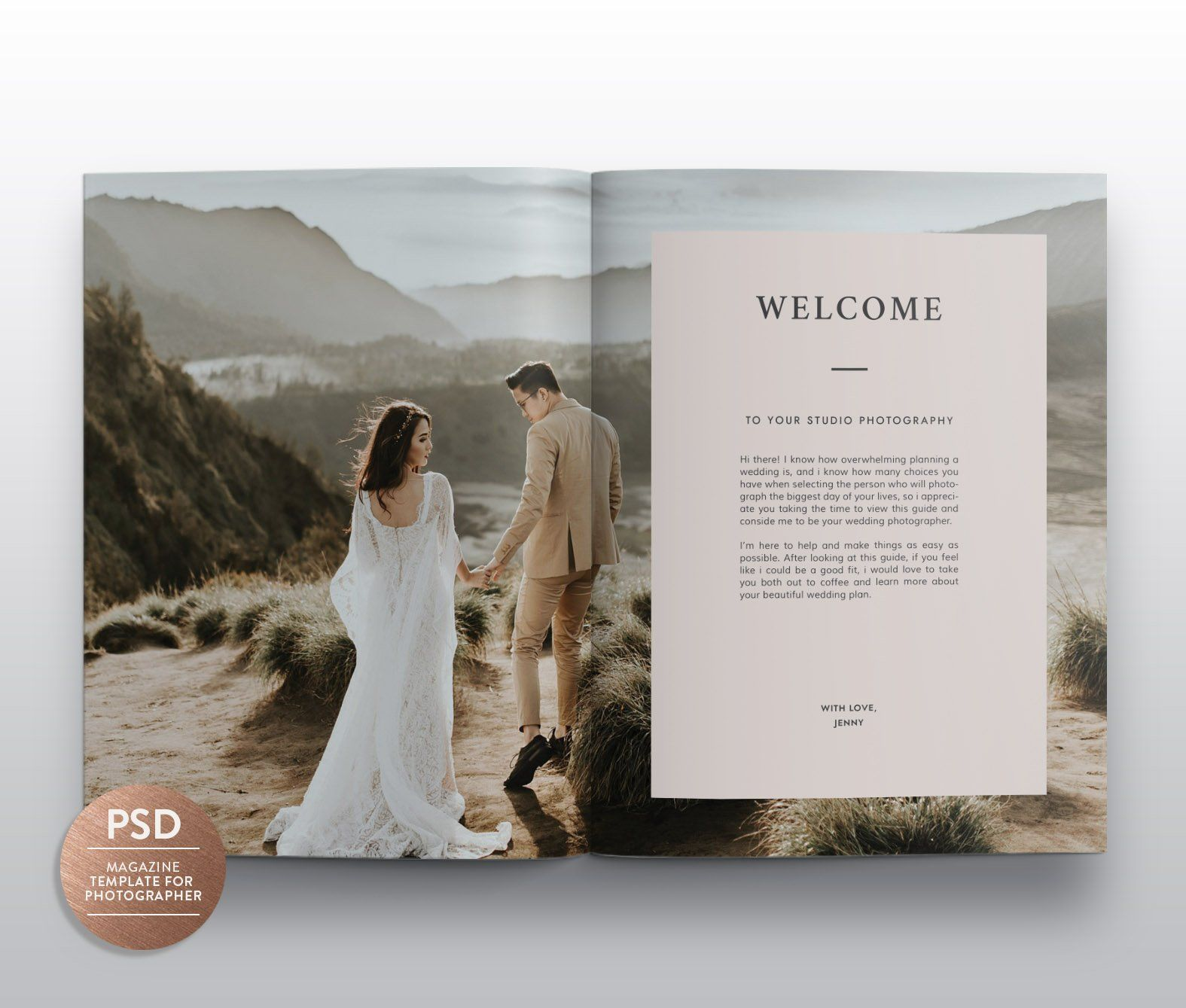 Wedding Magazine Template Mg003 Wedding Photography Magazine Wedding Photography Magazine Template Photography Magazine Template