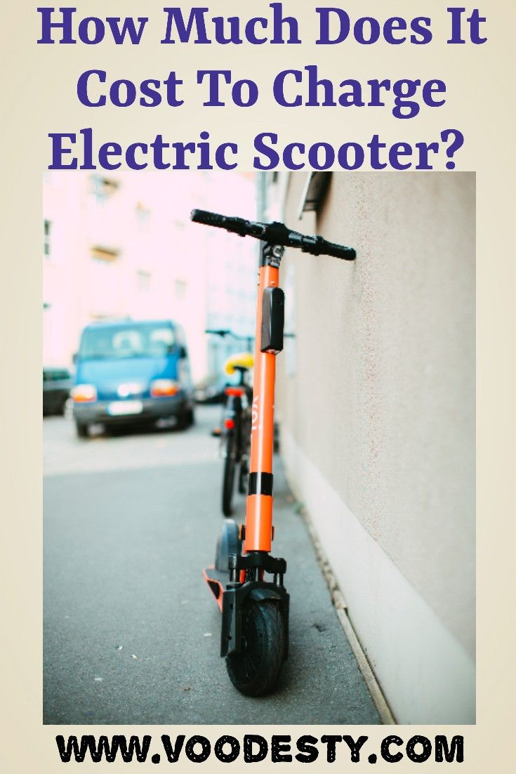 How Much Does it Cost to Charge an Electric Scooter