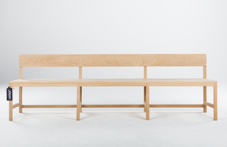 10 Easy Pieces Modern Wooden Benches With Backs Remodelista