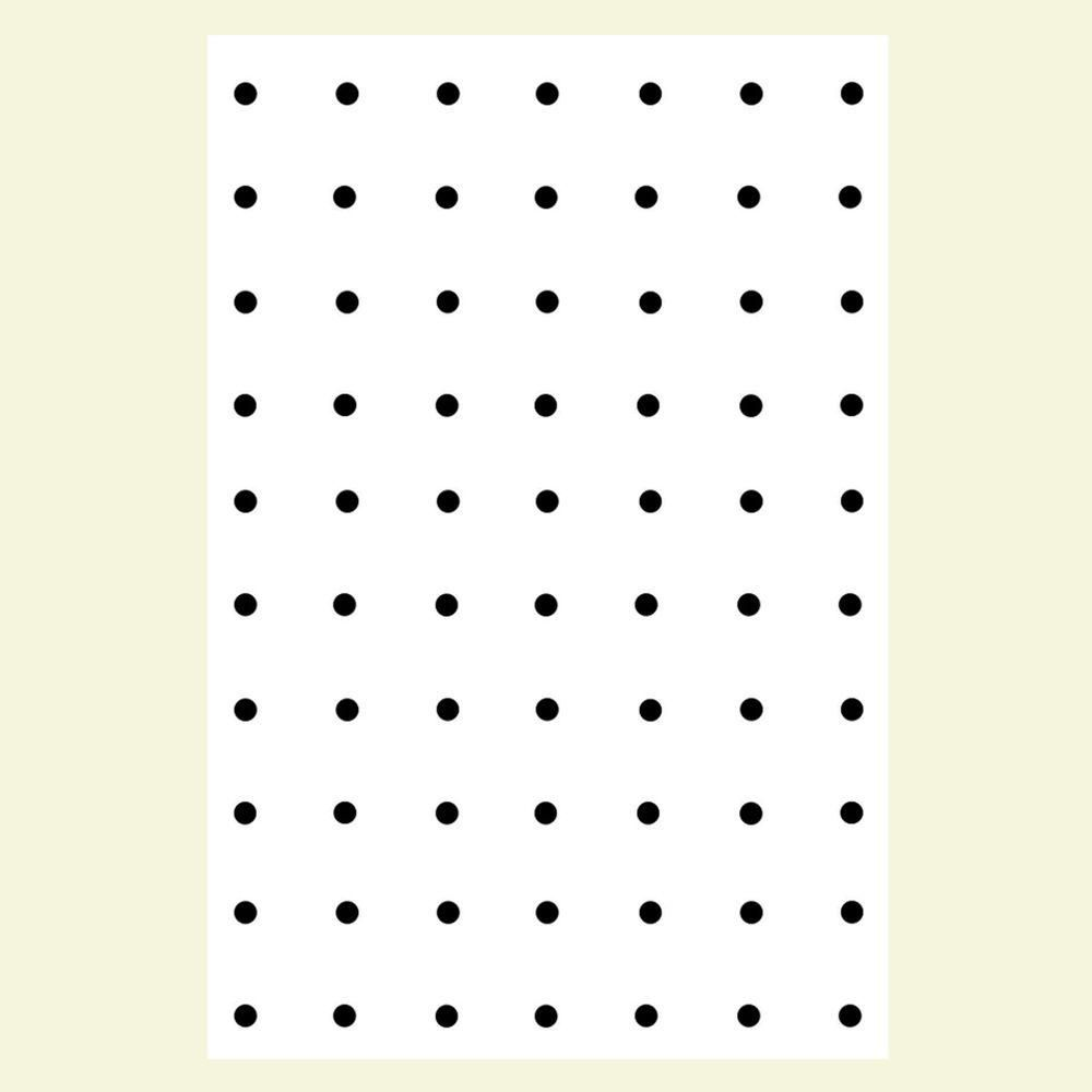 3 16 In X 4 Ft X 8 Ft Ash Pegboard White Panel 810753000000000