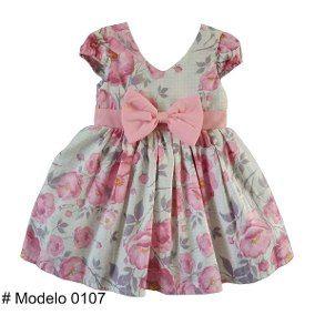 077eccf30a Vestido Infantil Crianças Luxo Festa Aniversário Casamento