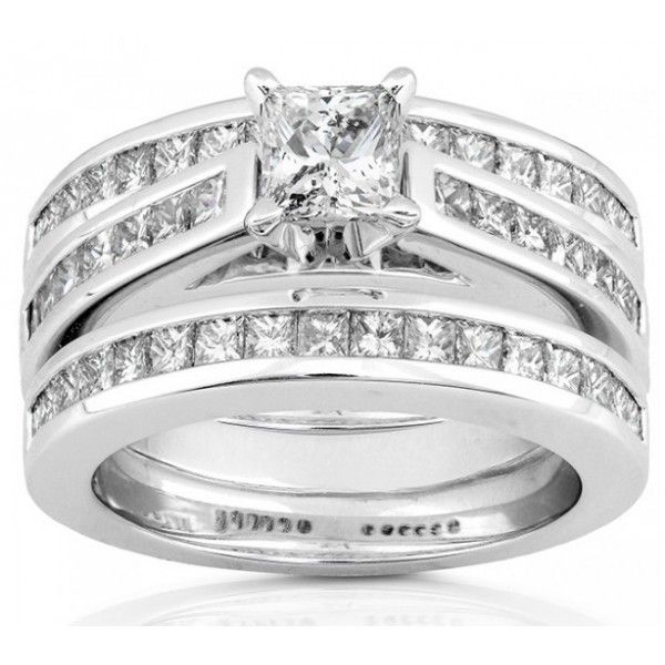 Cheap Trio Wedding Ring Sets staruptalentcom