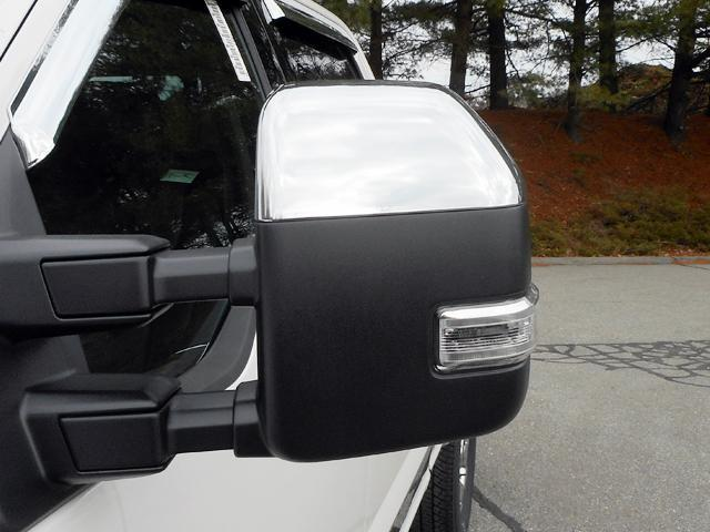 Qaa Part Mc57321 Fits F 250 F350 Super Duty 2017 2019 Ford 2 Pc Abs Plastic Mirror Cover Set Replacement Kit Top H F350 Super Duty F350 Ford Super Duty