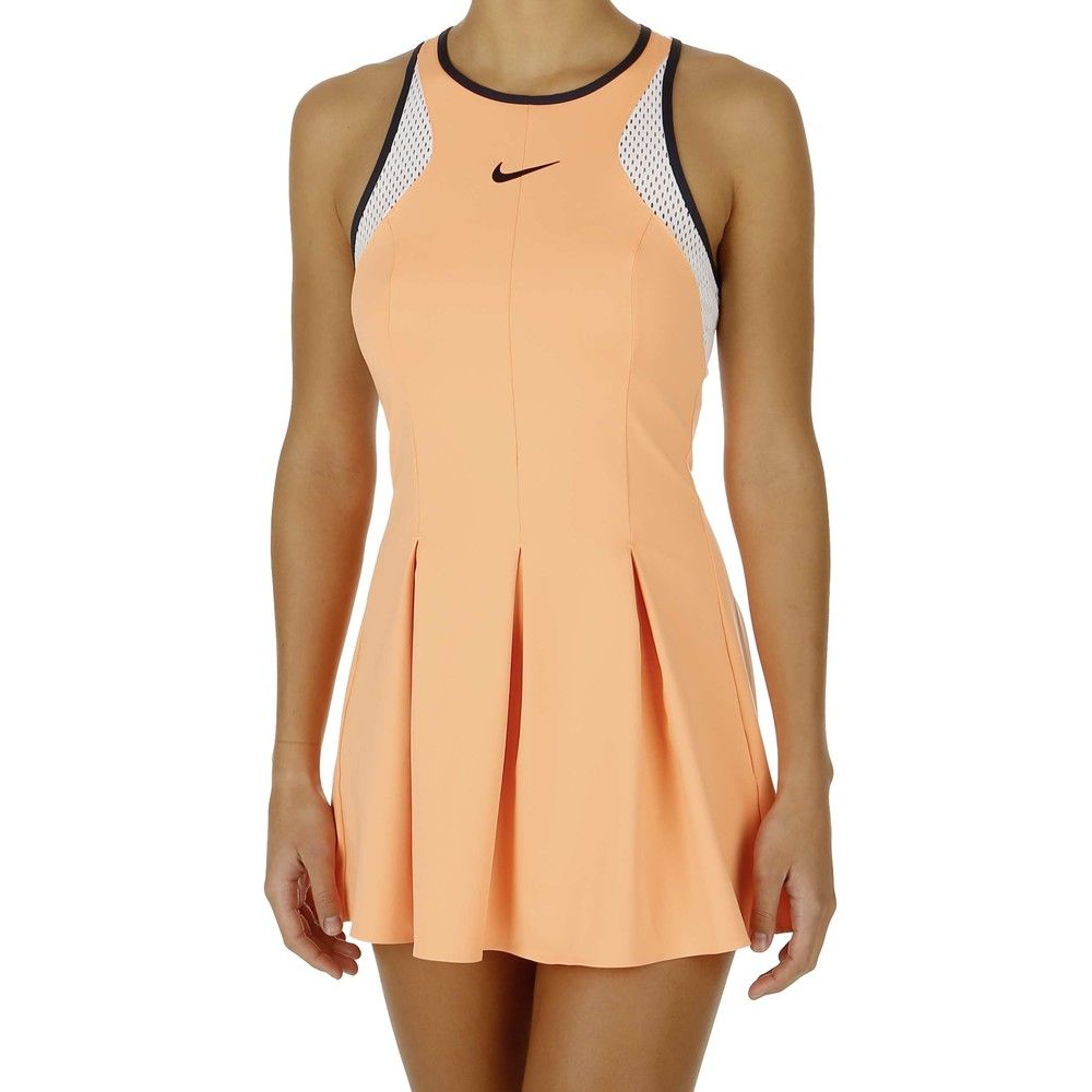 Nike Dress Maria Sharapova Premier - Women atomic orange/white/obsidian