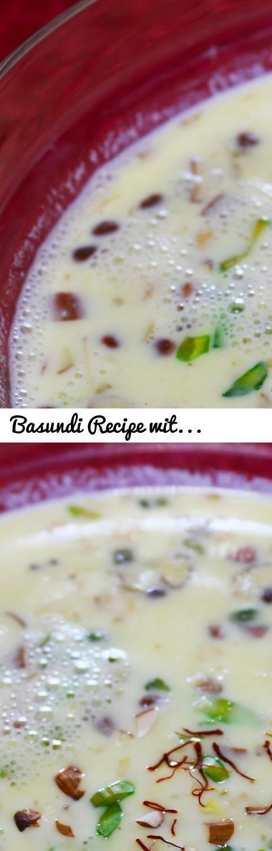 Basundi Recipe With Condensed Milk Indian Dessert Recipes Sweets Recipes Dessert Recipes