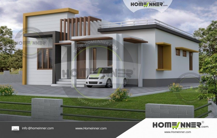Amazing 1000 Sq Ft 3 Bhk Indian Home Design Architectural House