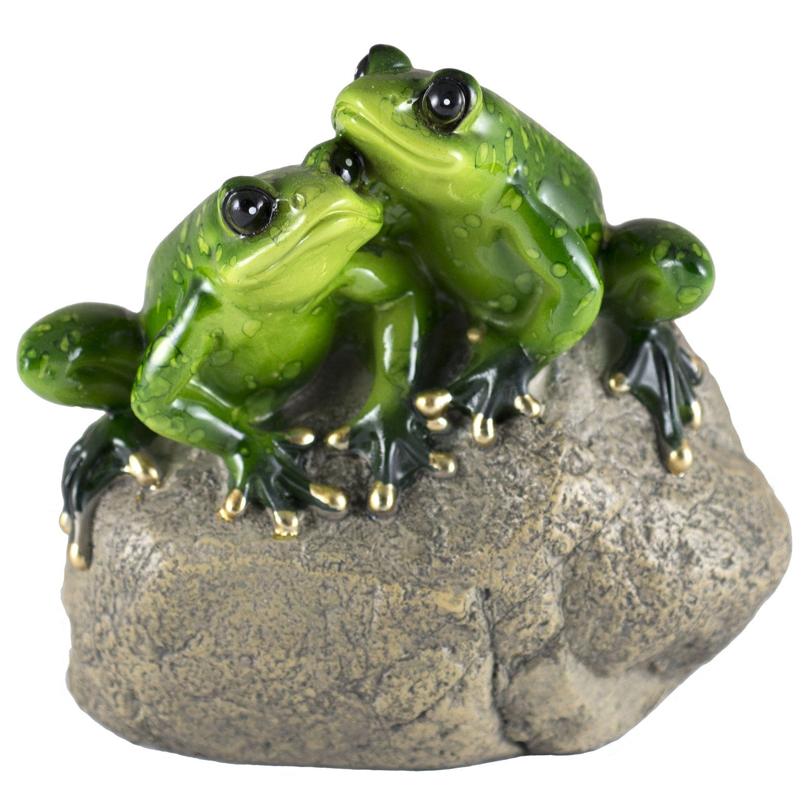 Yoga Pilates Frog Figure In Seated Tree Pose Little Resin Sculpture