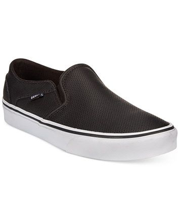 8b4d0f77b5 Vans Women s Asher Classic Slip-On Sneakers
