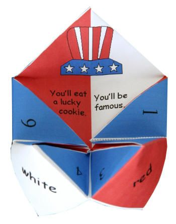 what to write in a fortune teller Union jack fortune teller - materials your free printable (click on the big red button saying click for your printable) scissors pens to write some union jack or royal wedding facts or get all romantic and find some wedding things to add.