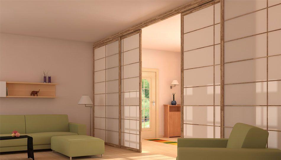 Cinius pareti e porte scorrevoli shoji tradizionali giapponesi