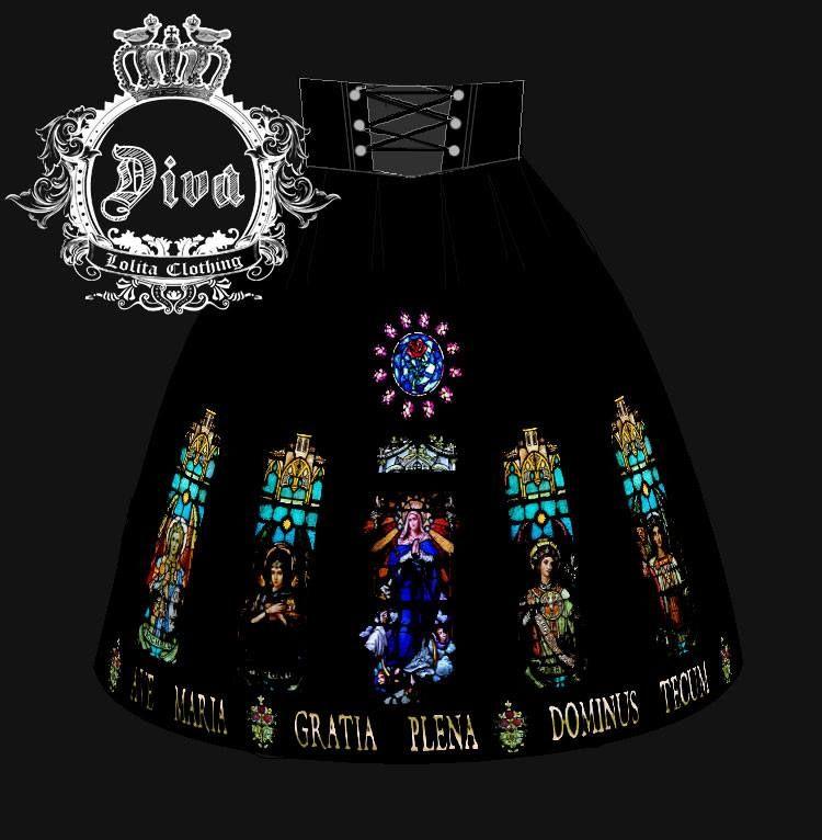 "Diva - Lolita Clothing ""Ave María"""