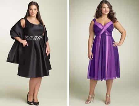 Ultimos modelos de vestidos de fiesta para gorditas