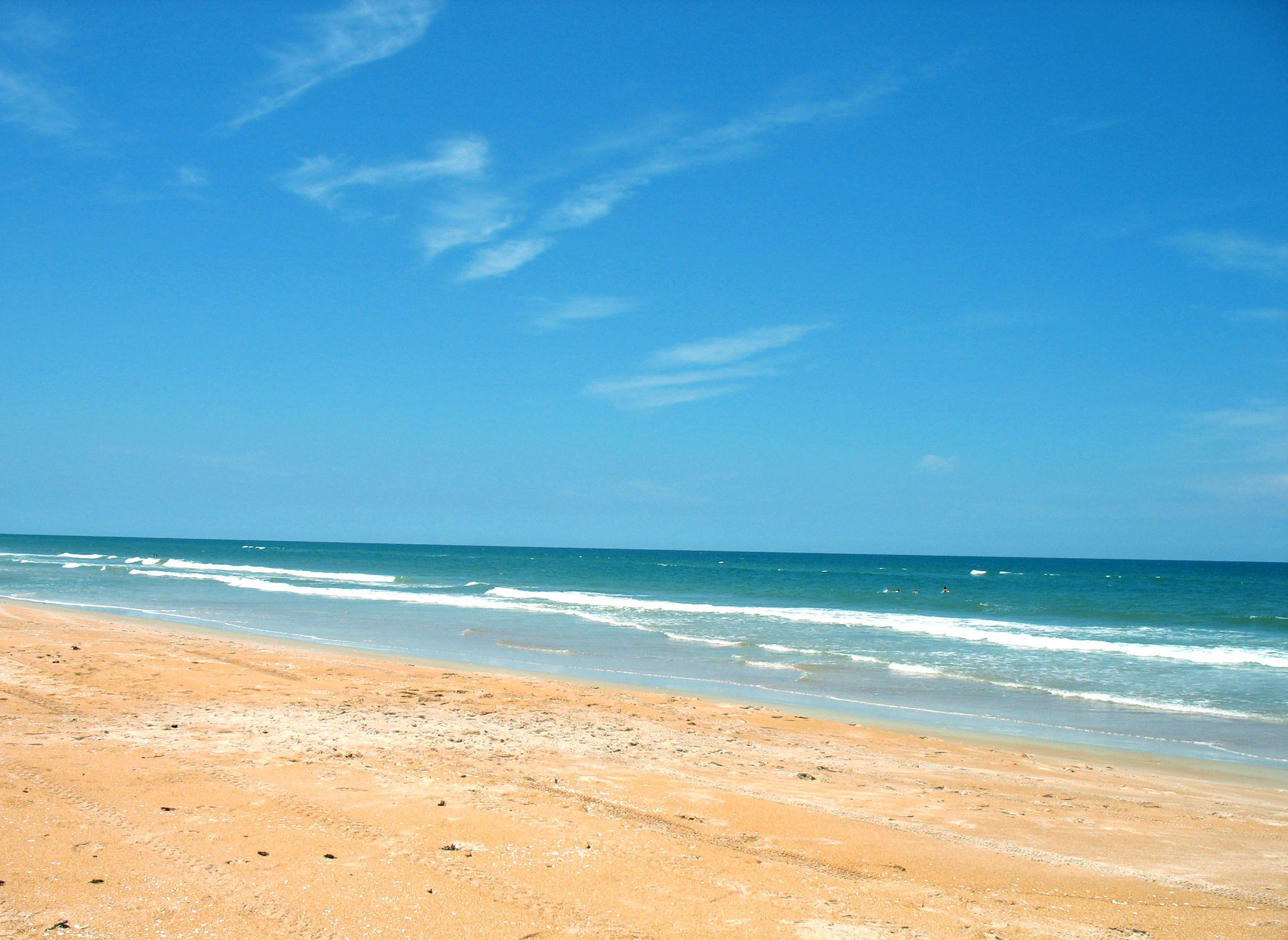 Ormond Beach Fl I Remember This Place Because The Ocean Water Was Soo Blue