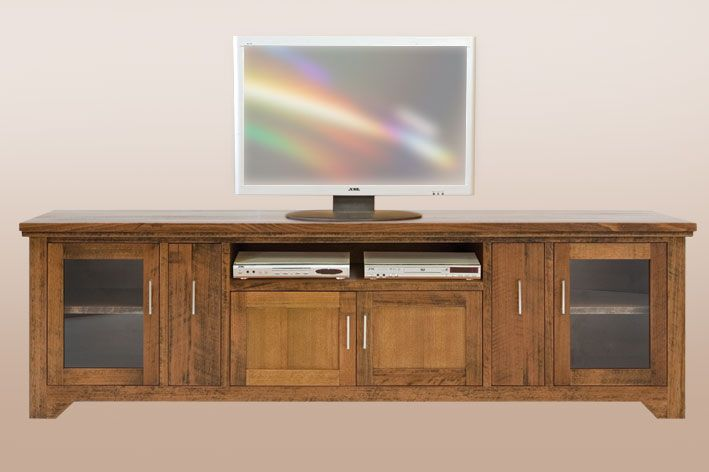 Rustic Ash Lowline TV Unit