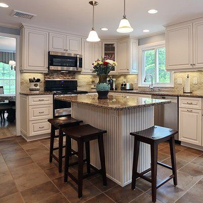 Best Quartz Countertop Vintage Kitchen Antique White With 400 x 300