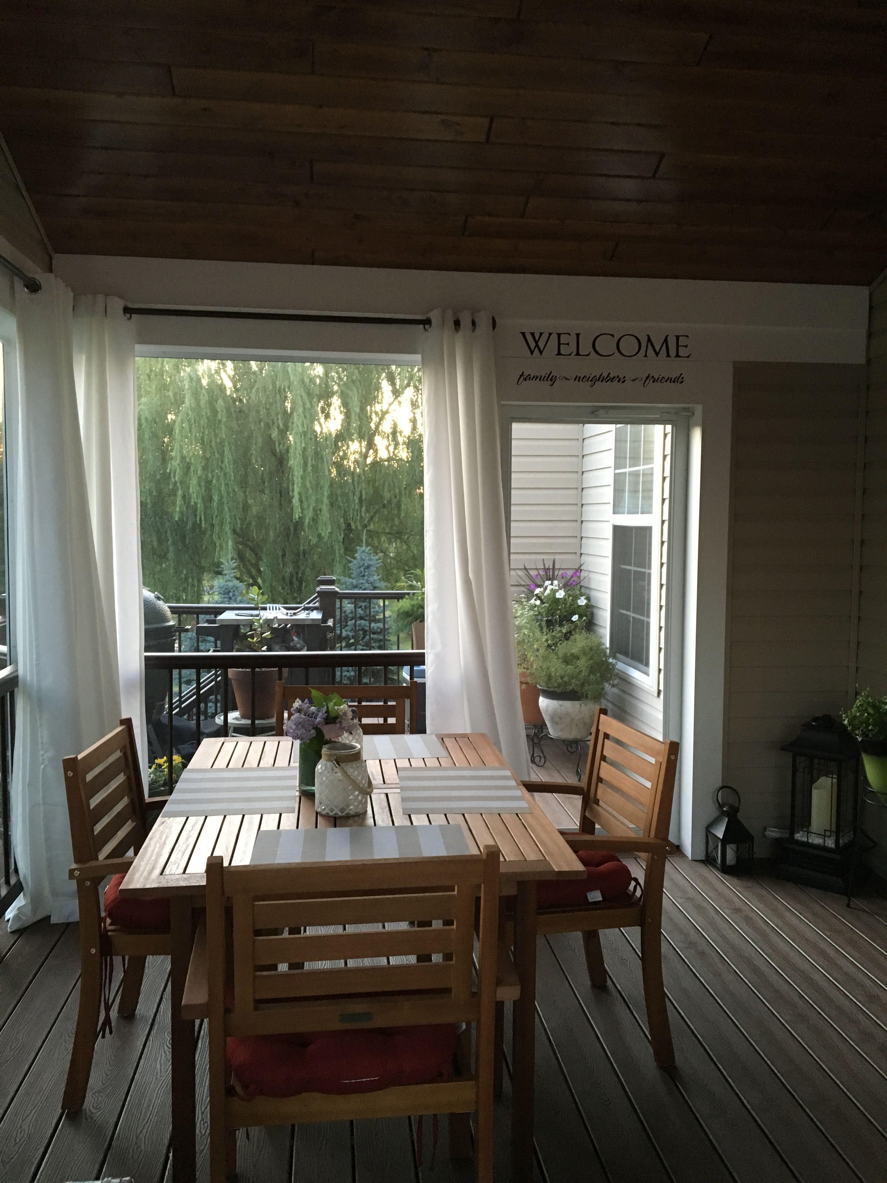 Screened in Deck | Patio deck designs, Add a room ... on Add On Patio Ideas id=40634