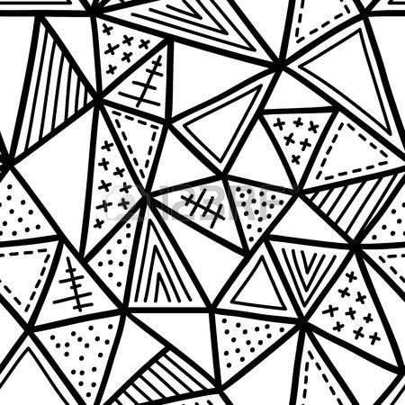 Simple motif abstrait vecteur dessin la main les mod les for Motif dessin