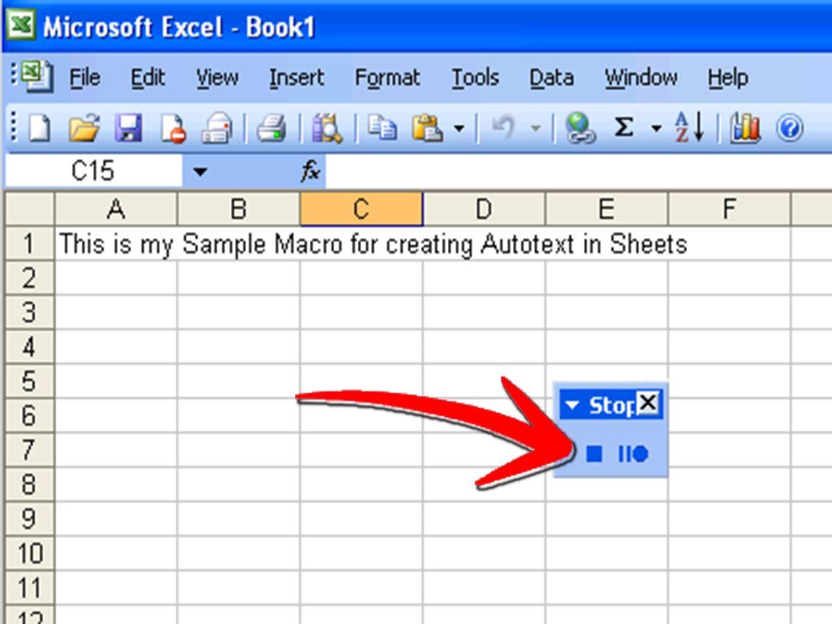 Write A Simple Macro In Microsoft Excel Microsoft Excel Excel