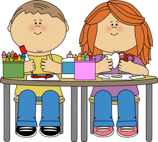kids in art class png 550 495 kid idea pinterest clip art rh pinterest com art class clipart free Arts and Crafts Clip Art