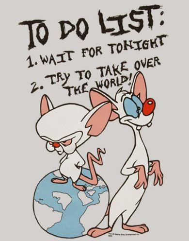 Pinky And The Brain Quote With Images Funny Disney Pictures