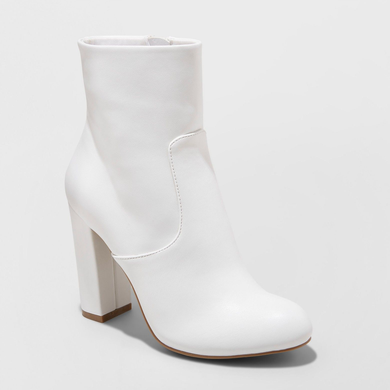 A New Day Women s Emelia Bootie White A New Day