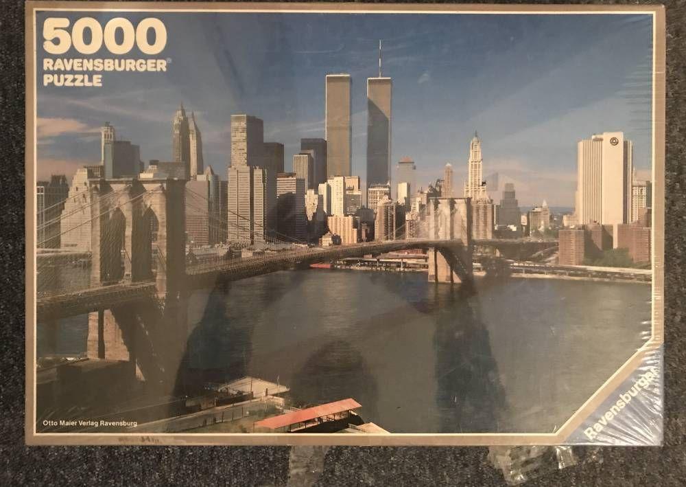 5000 Ravensburger New York City Rare Puzzles City Puzzle New York City Ravensburger
